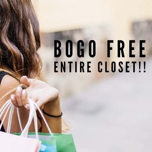 Other - ✨BOGO FREE - ENTIRE CLOSET!!🛍